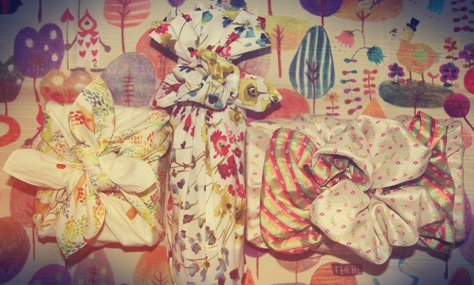furoshiki verpackungen
